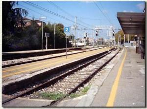 La stazione nel 1998