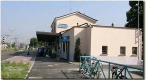 Il fabbricato viaggiatori rinnovato nel 2005.