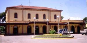 La stazione nel 1999